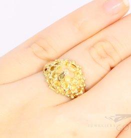 18k filigree ring
