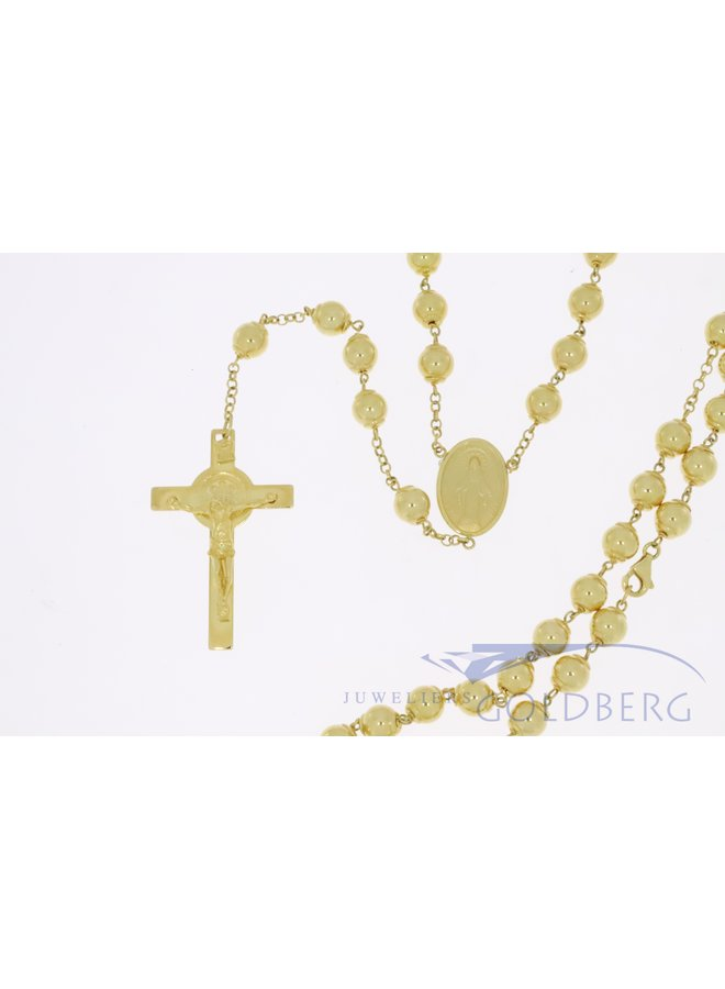 Heavy 14k gold rosary