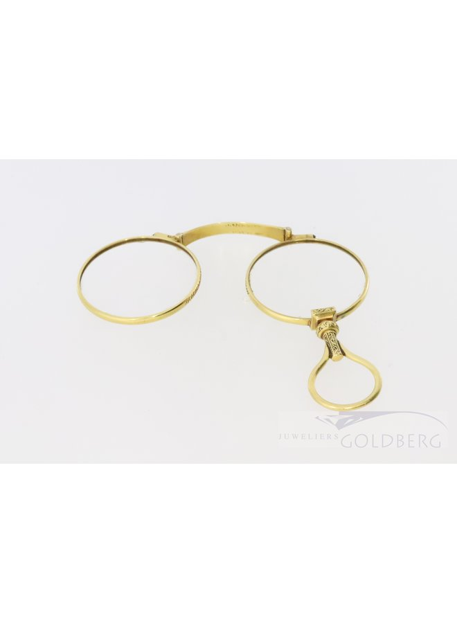 Antique gold 18k glasses from London after 1798