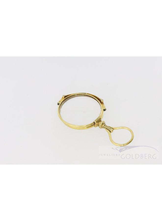 Antieke gouden 18k bril uit Londen na 1798