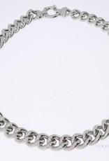 925 zilver grourmet collier 12mm