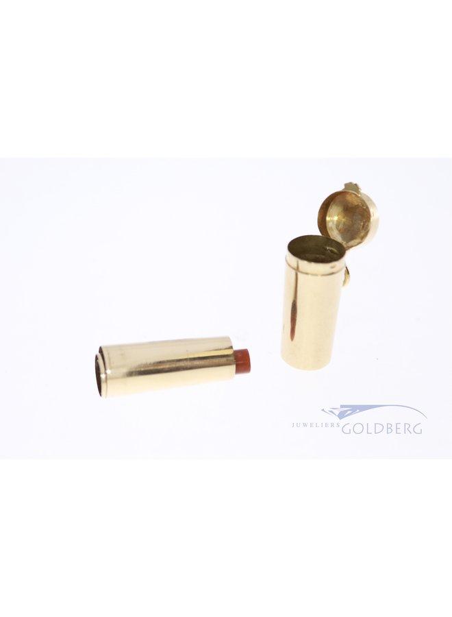 14k cigar holder with jar