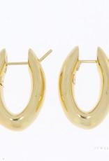 14k premium Italiaanse oorclips