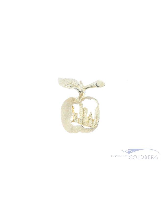 The Big Apple 14k pendant