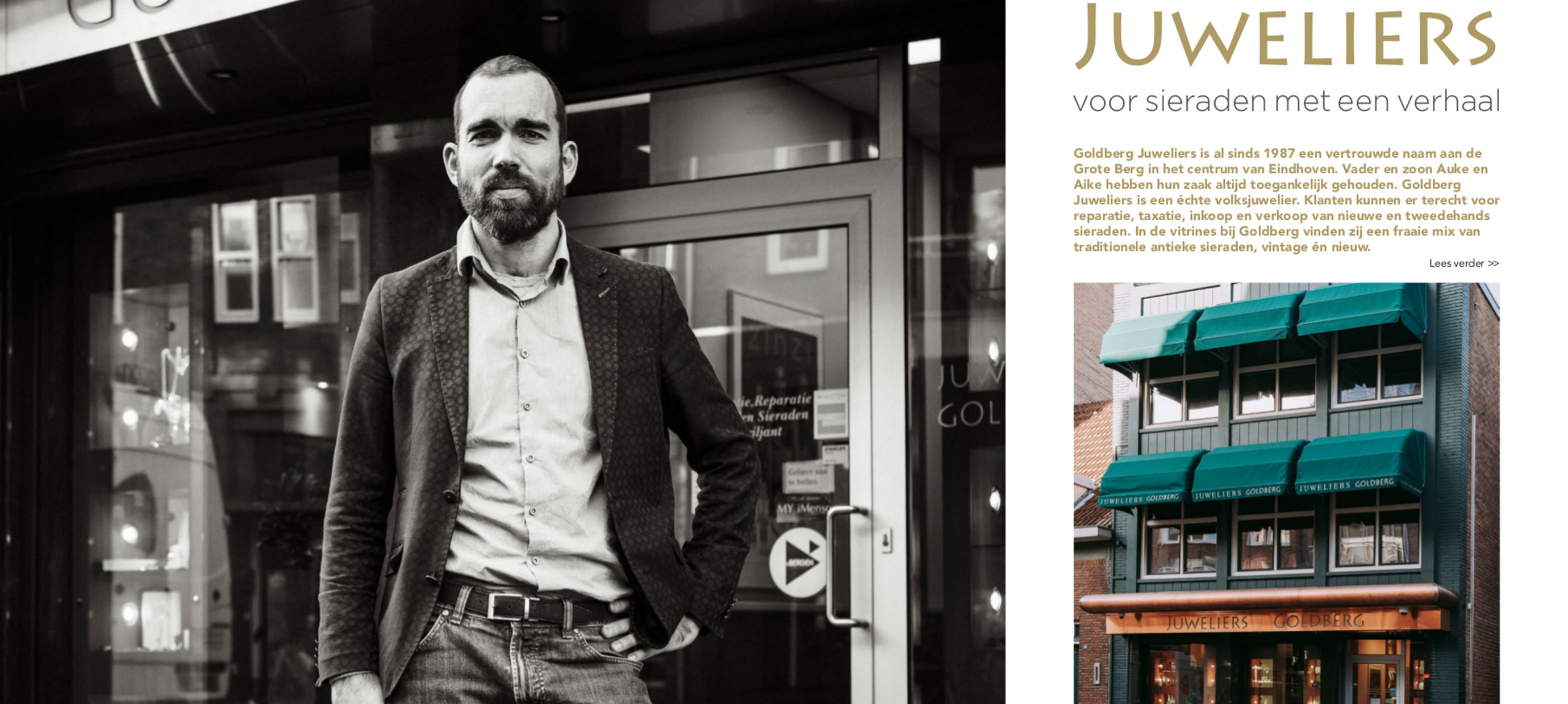 Artikel Goldberg Juweliers in Eindhoven Business