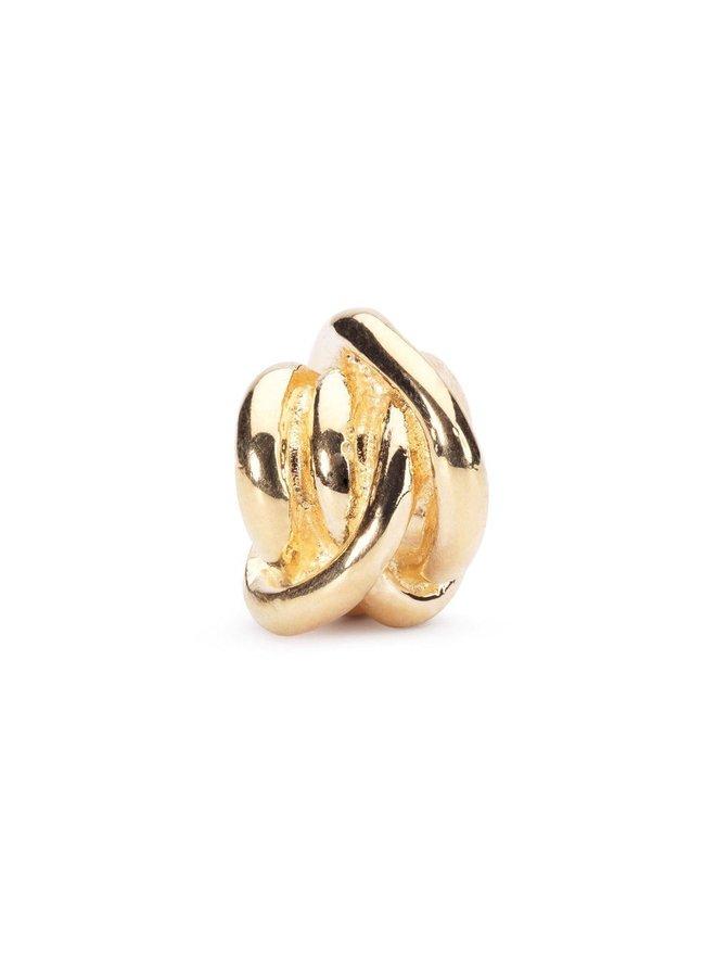 Trollbeads Gouden Geluksknoop TAUBE-00052