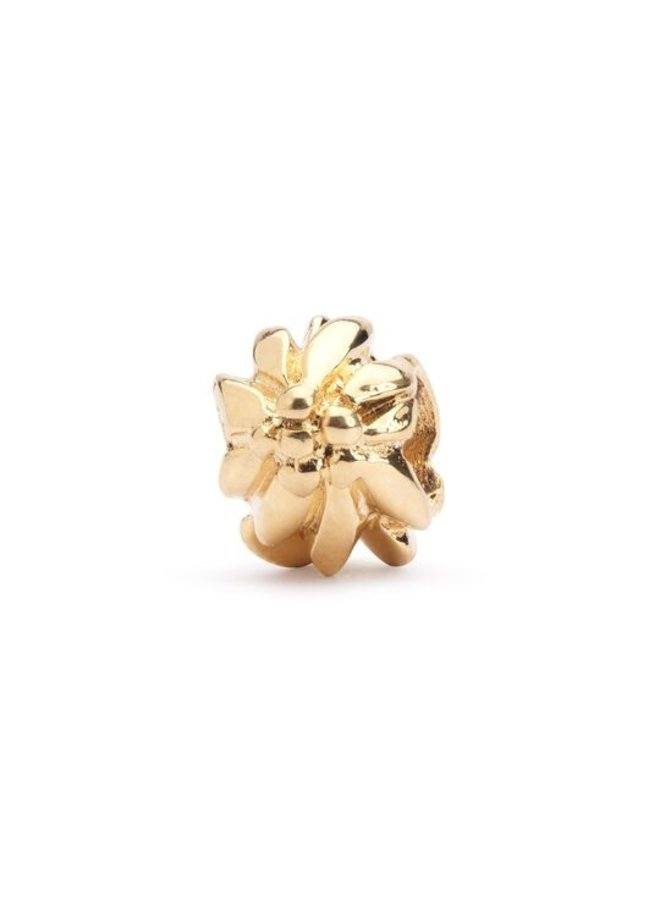 Trollbeads Gold Mountain Flower Bead