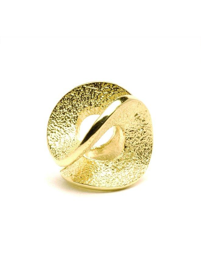 Trollbeads gouden Eindeloos