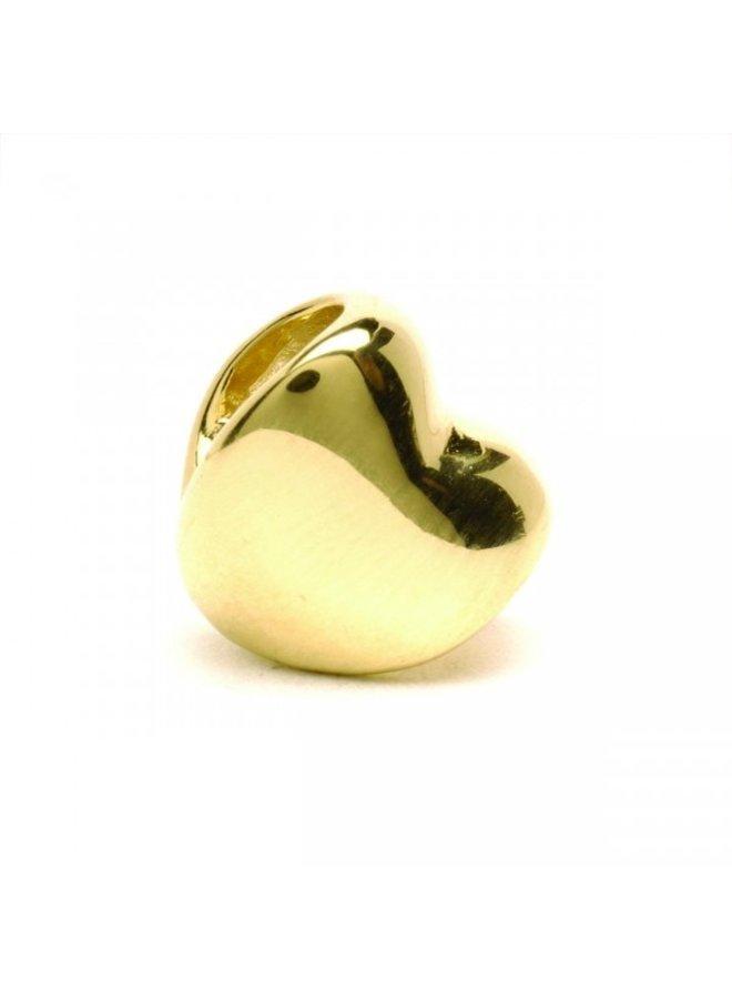 Trollbeads gouden Hart