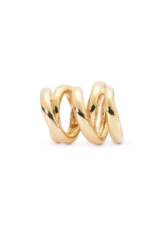 Trollbeads Gold Three Siblings Beads