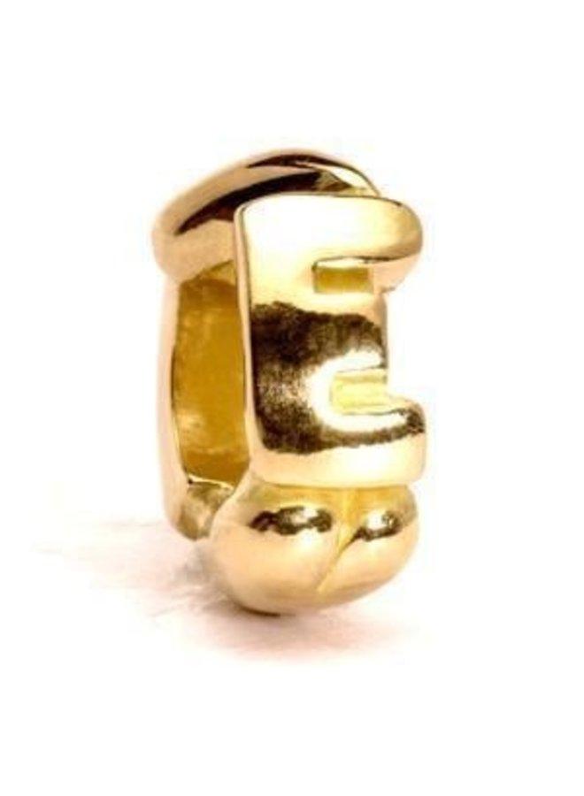 Trollbeads alphabet beads A- K