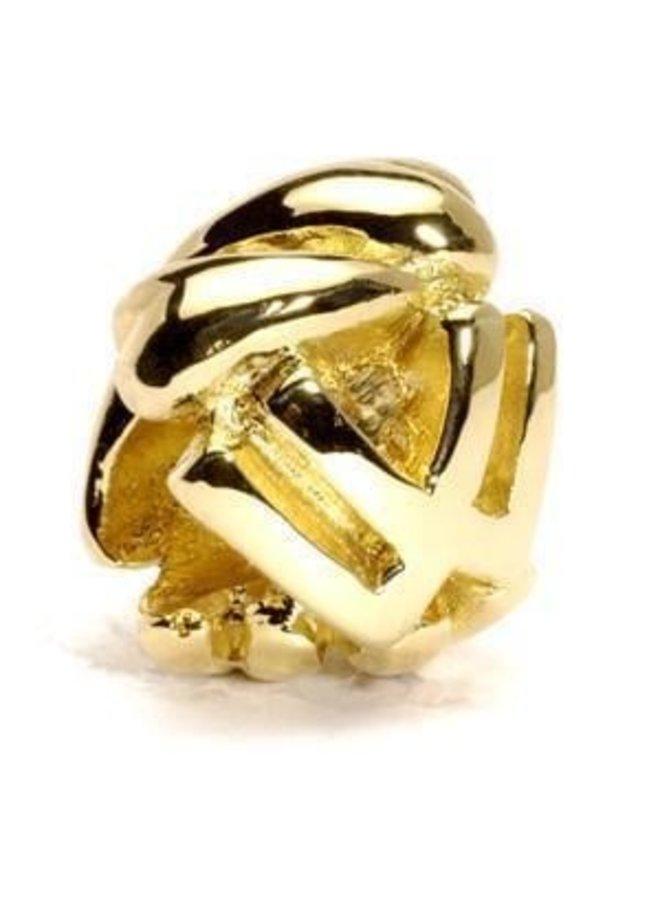 Trollbeads Gouden Alfabet V - Z