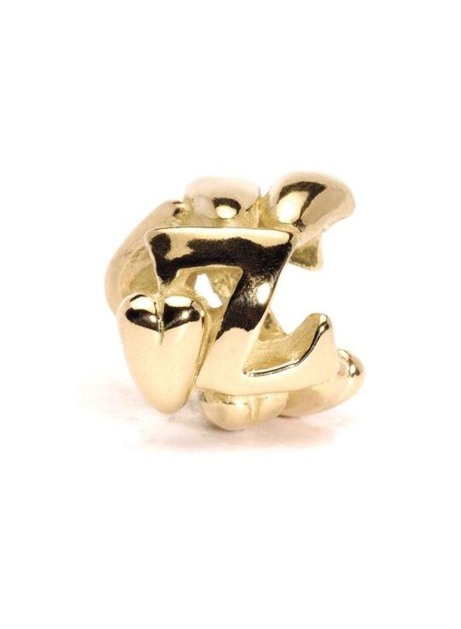 Trollbeads alphabet beads V-Z