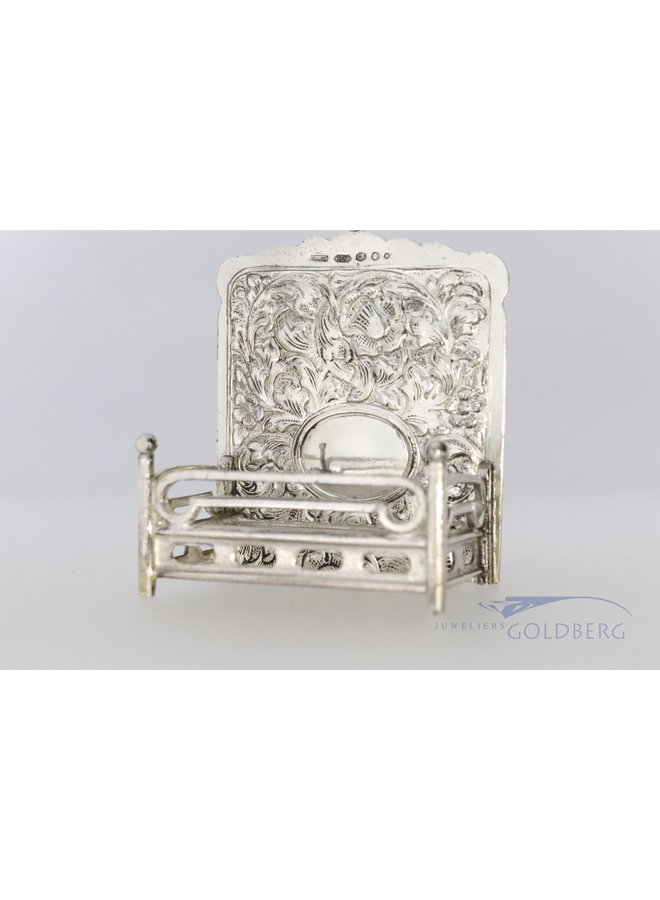 Miniature of a Bed