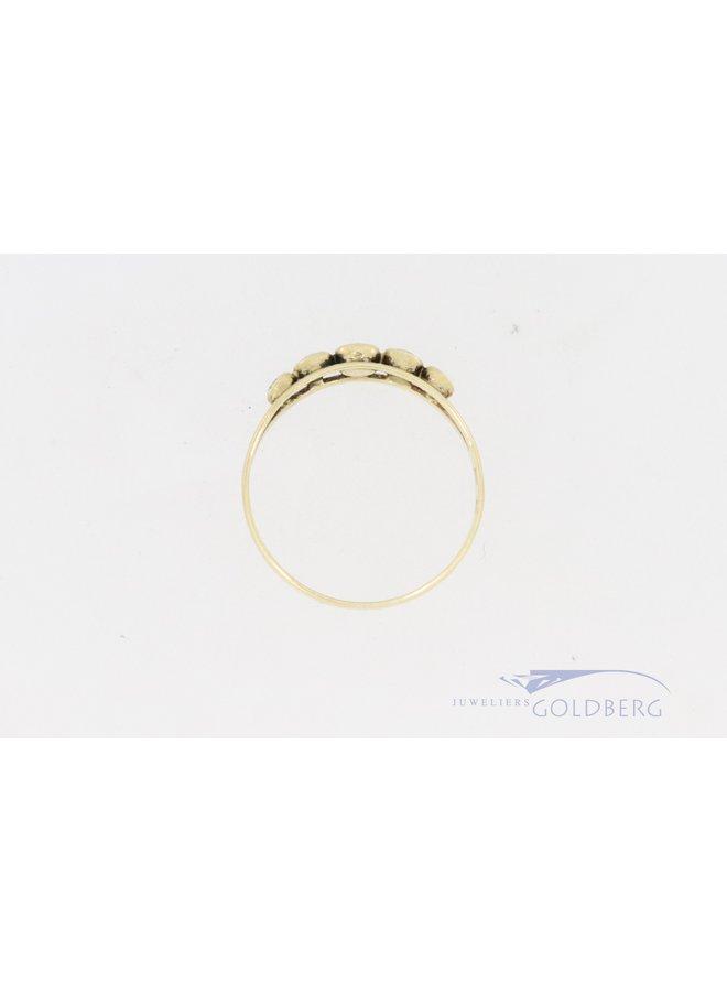 14k alliance ring met zirkonia