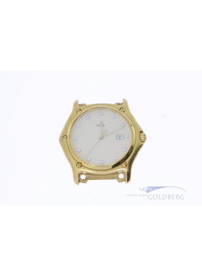 Ebel watch 18k yellow gold.