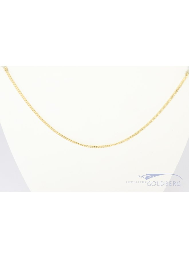 classic 14 carat gourmet link necklace