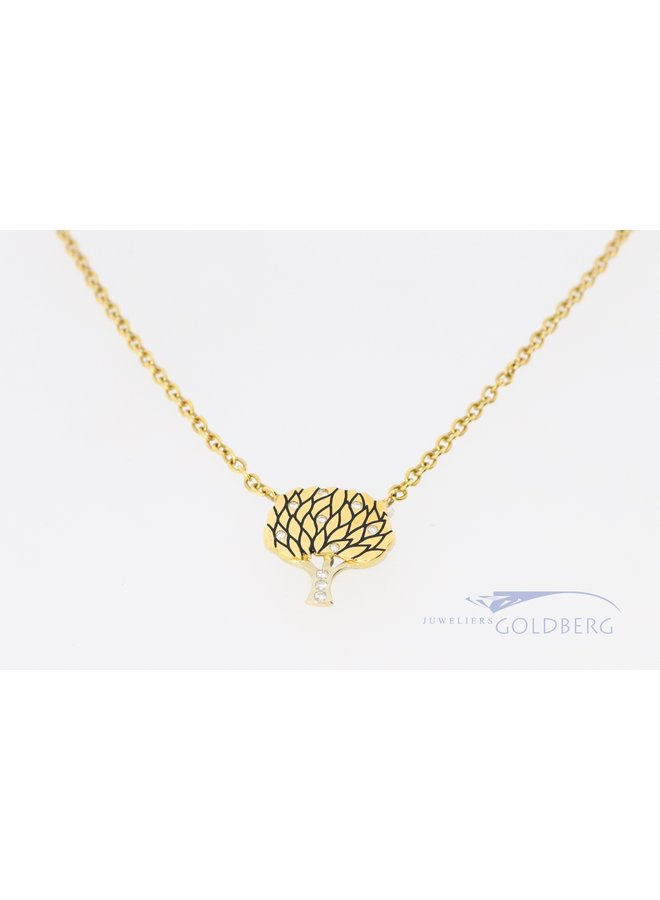 18k tree of life necklace