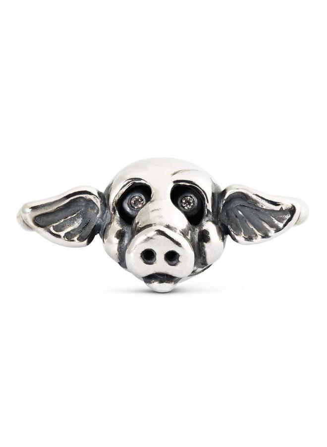Trollbeads X-jewelery link pig