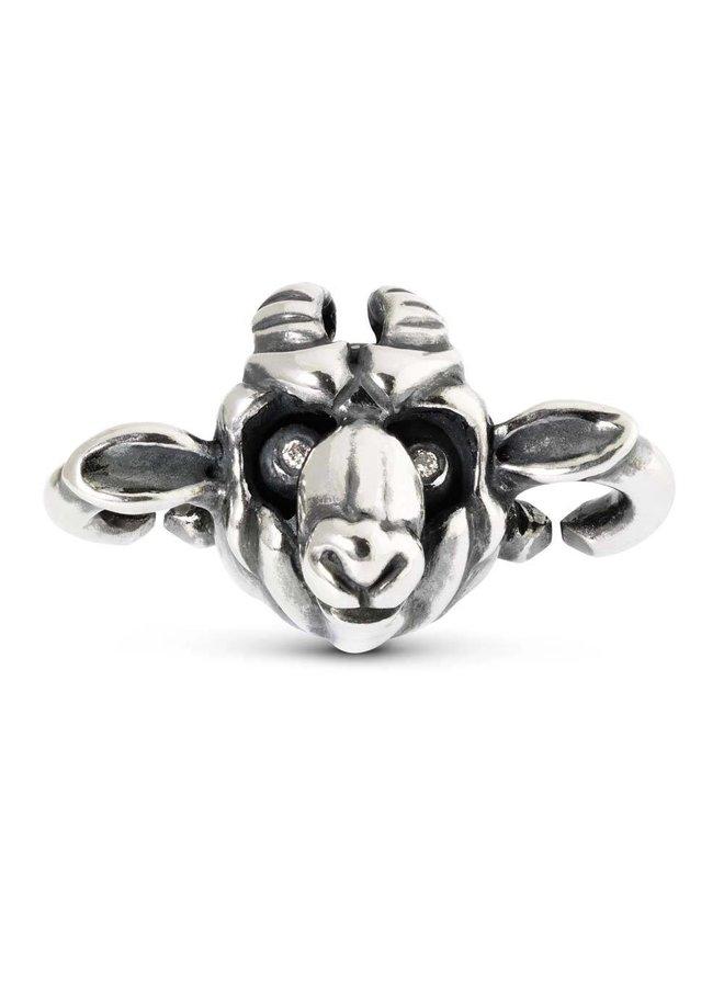 Trollbeads X jewelry link Goat