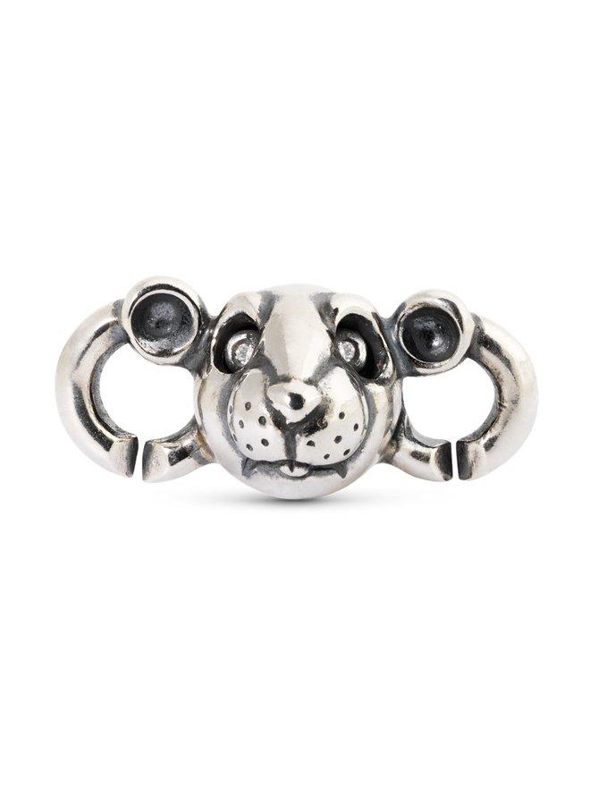 Trollbeads X-jewellery schakel rat