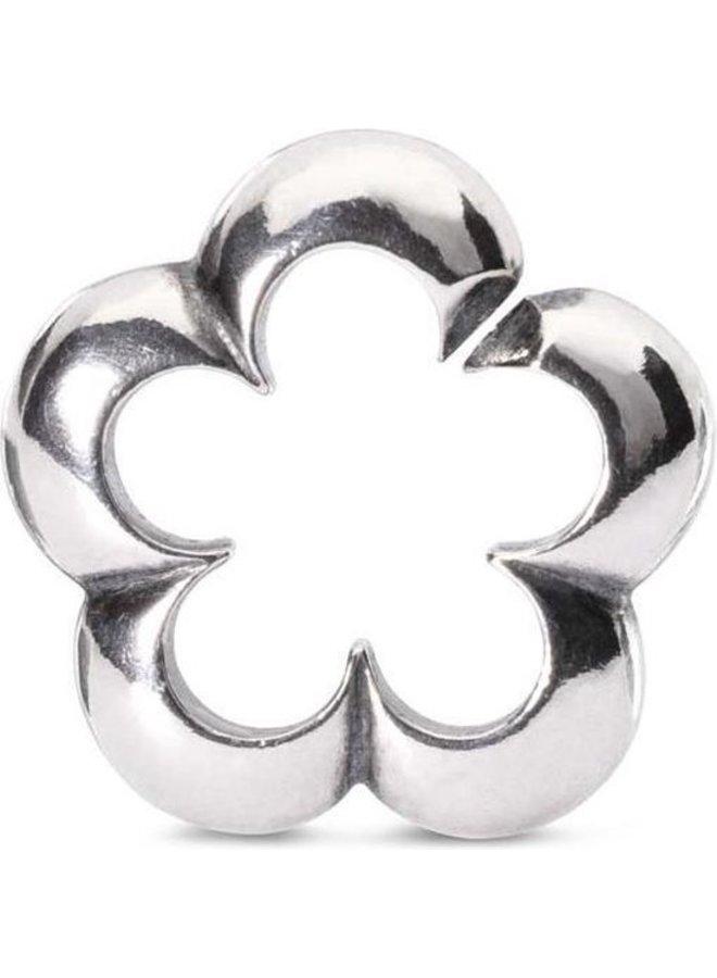 Trollbeads X-jewellery schakel bloemenwolk
