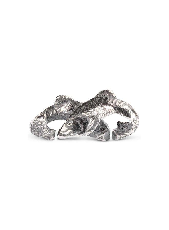 Trollbeads X-jewellery schakel vissen