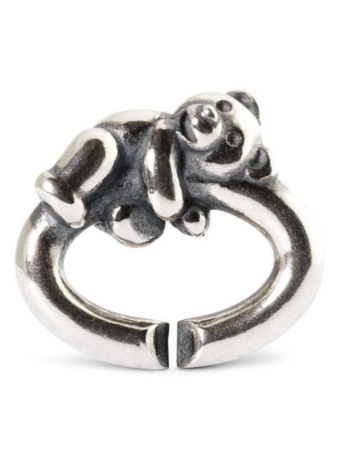 Trollbeads X-jewelery link teddy bear