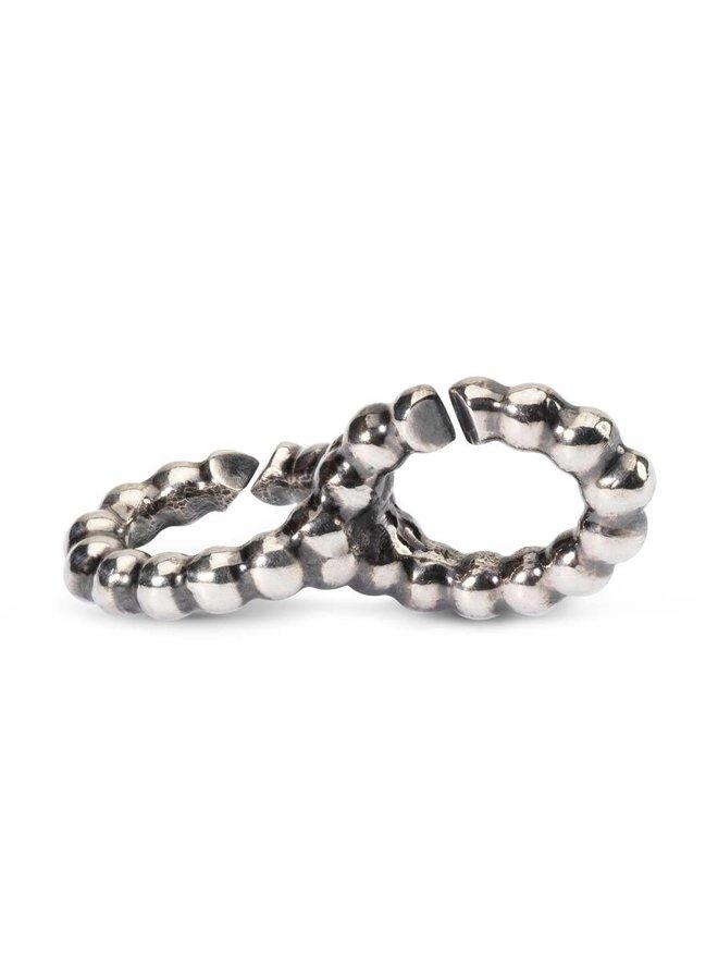 Trollbeads X jewelery double link eternity