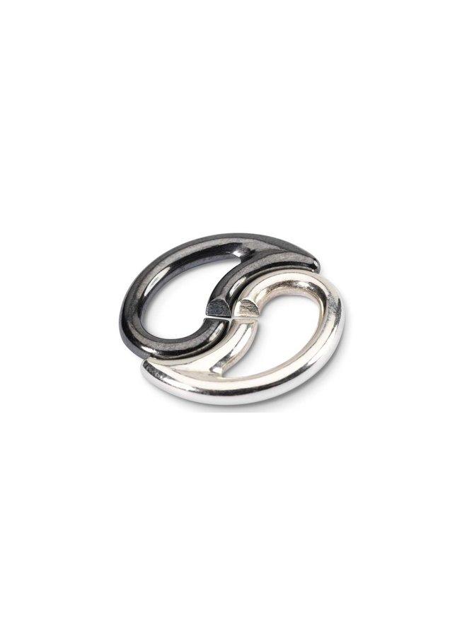 Trollbeads X-jewelery double link Yin Yang