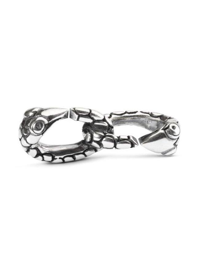Trollbeads X jewelery link double serpents