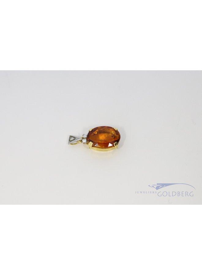 Beautiful citrine pendant