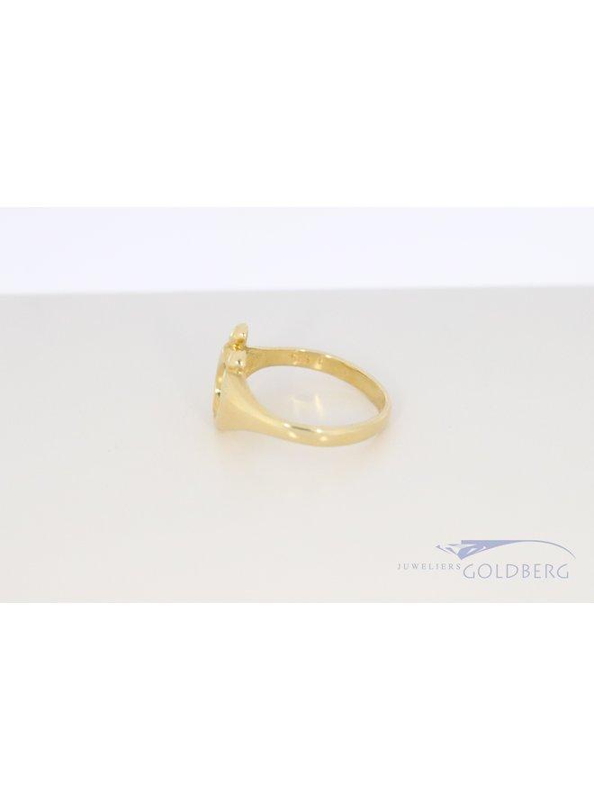 14k geelgouden M'amoer ring