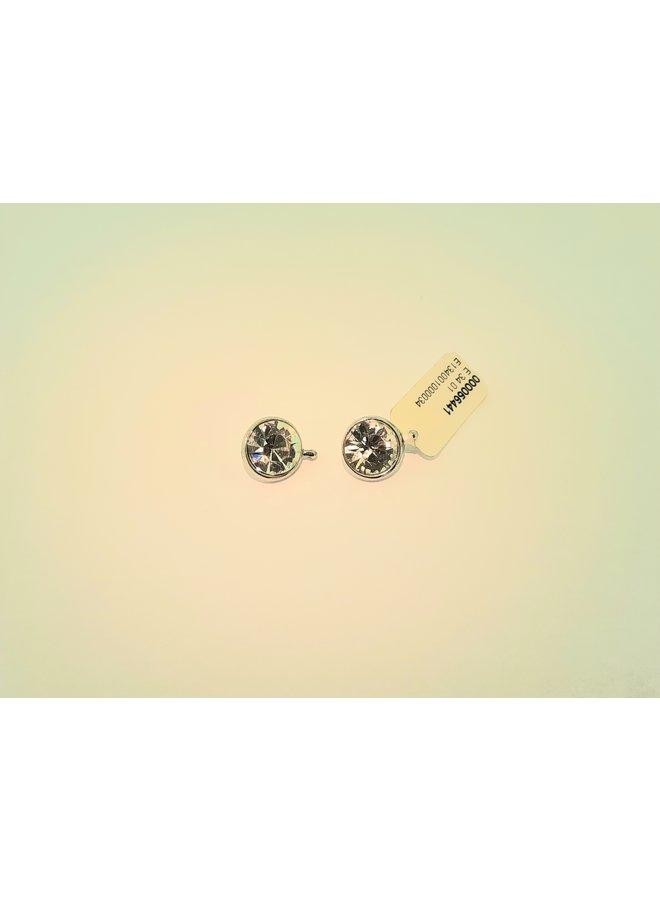 """Heide Heizendorff  """"Crystal"""" round 10mm white  E34_01"""