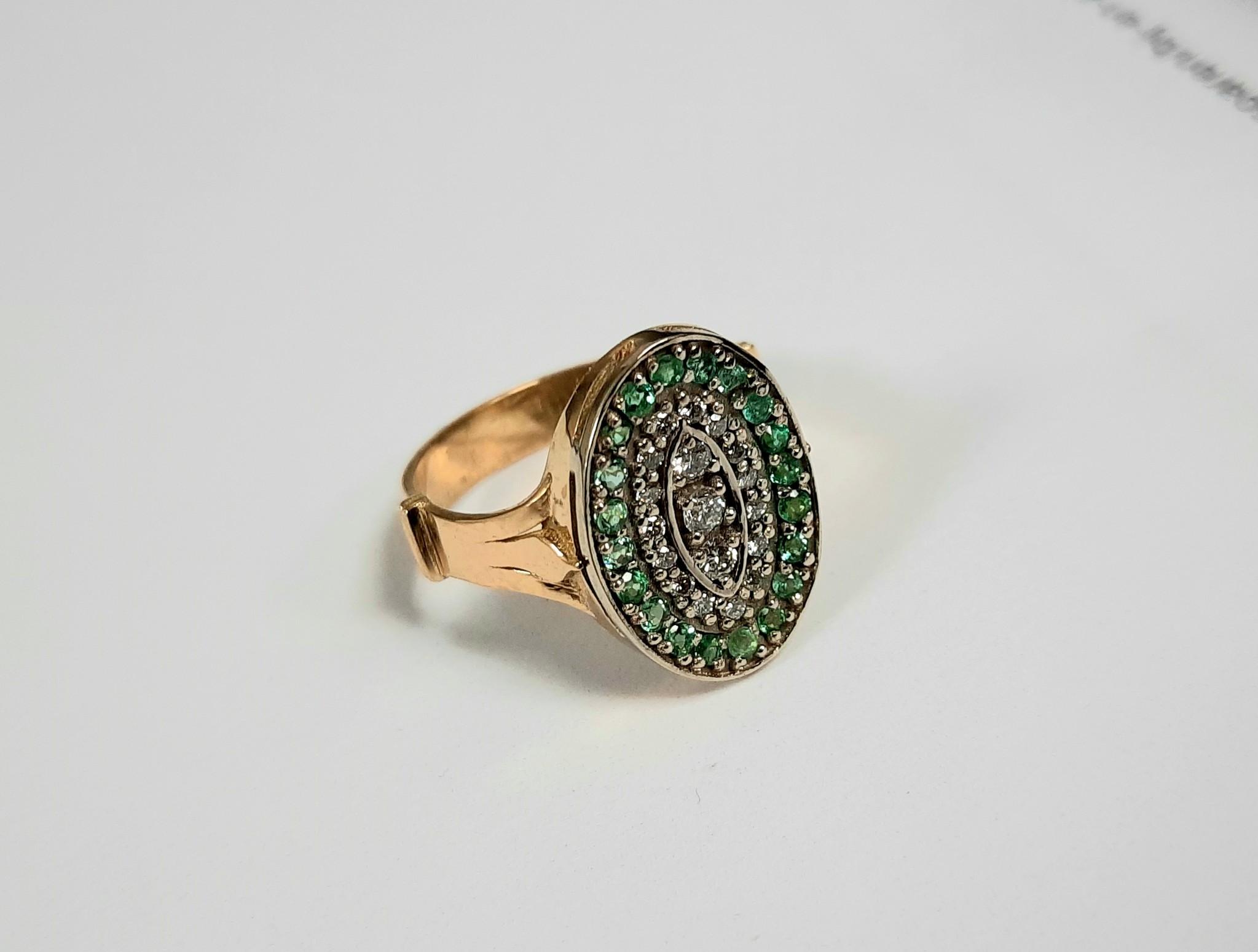 Goldberg Design Smaragd en Diamant