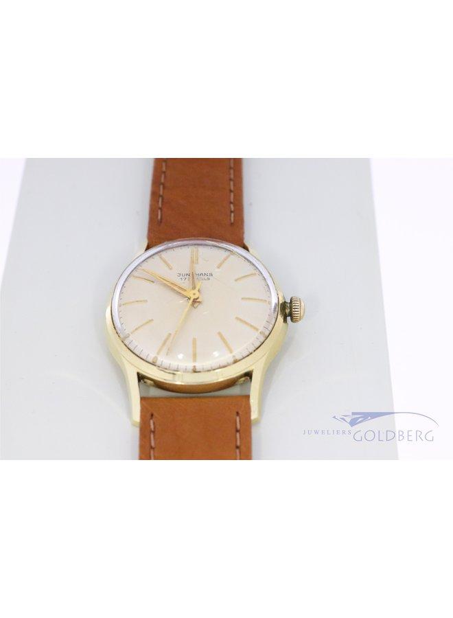 Junghans watch 14 k 1950s