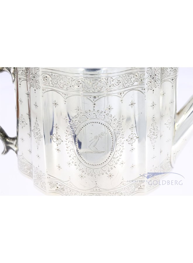 silver teapot from 1867
