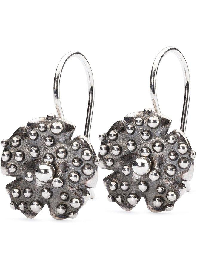 Trollbeads silver earring morning dew