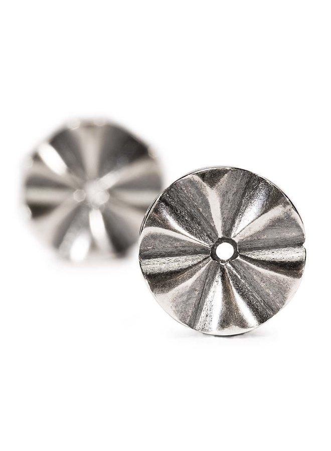Trollbeads zilveren oorhanger Pompei
