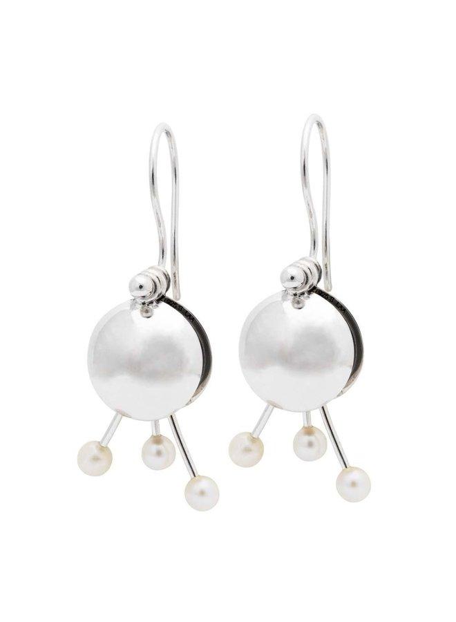 Trollbeads earrings silver GeheimeBol