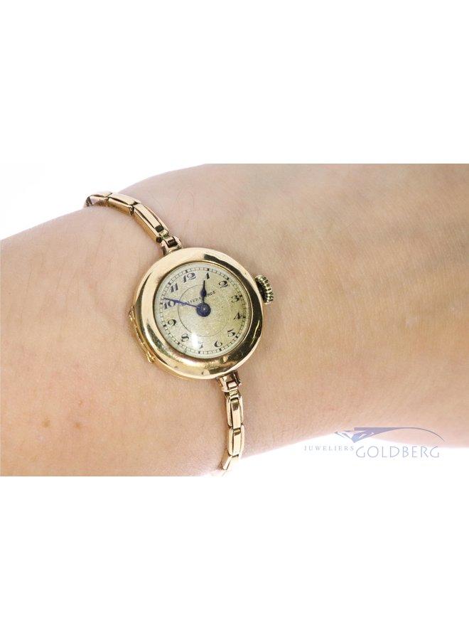14 kt antique watch from Switzerland