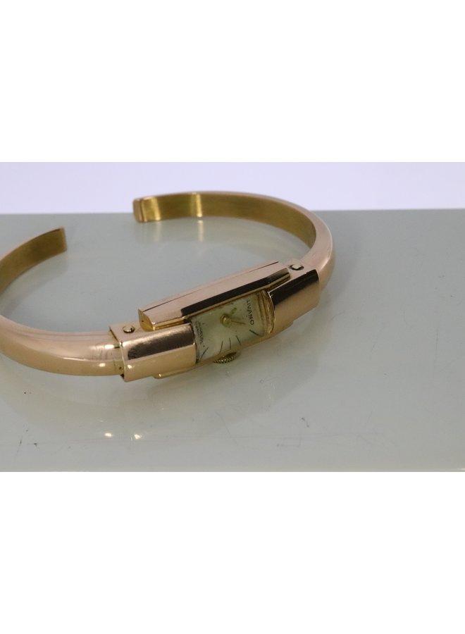 18k gouden horloge ca. 1930