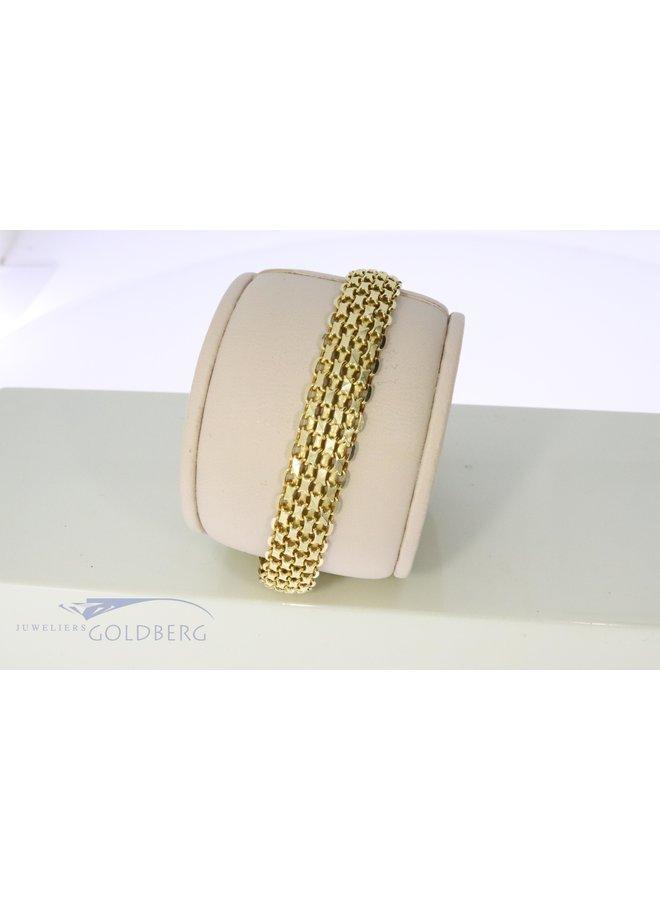 14k gold bracelet 60s style