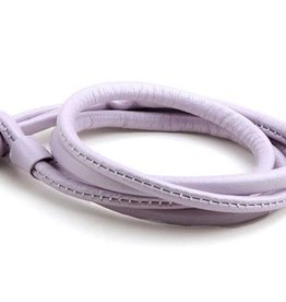 Joy de la Luz Joy de la Luz JB006M leather knot light purple medium
