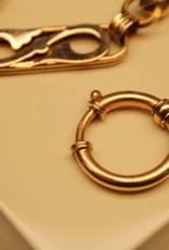 14 carat gold antique Dutch pocket watch chain 1865-1905