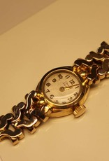 18k gouden antiek Onsa dameshorloge