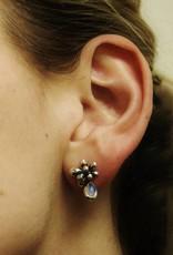 Rabinovich Silver Earrings Moonstone