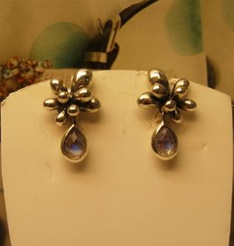 Rabinovich Silver Earrings Moonstone