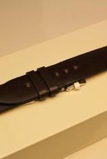 Handgemaakte horlogeband cordovan leder donkerbruin 18/18mm
