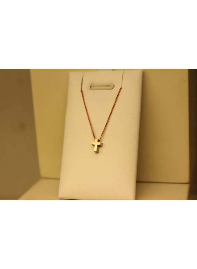 Various 14 carat RED gold handmade pendants with necklace included